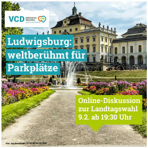 VCD Lebenswertes Ludwigsburg: Was geht?