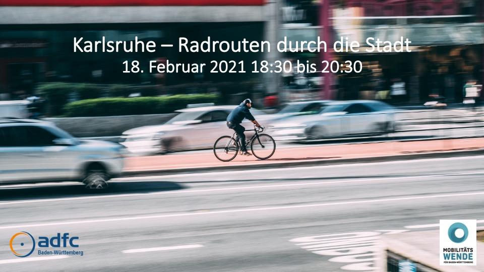Karlsruhe – Radrouten durch die Stadt