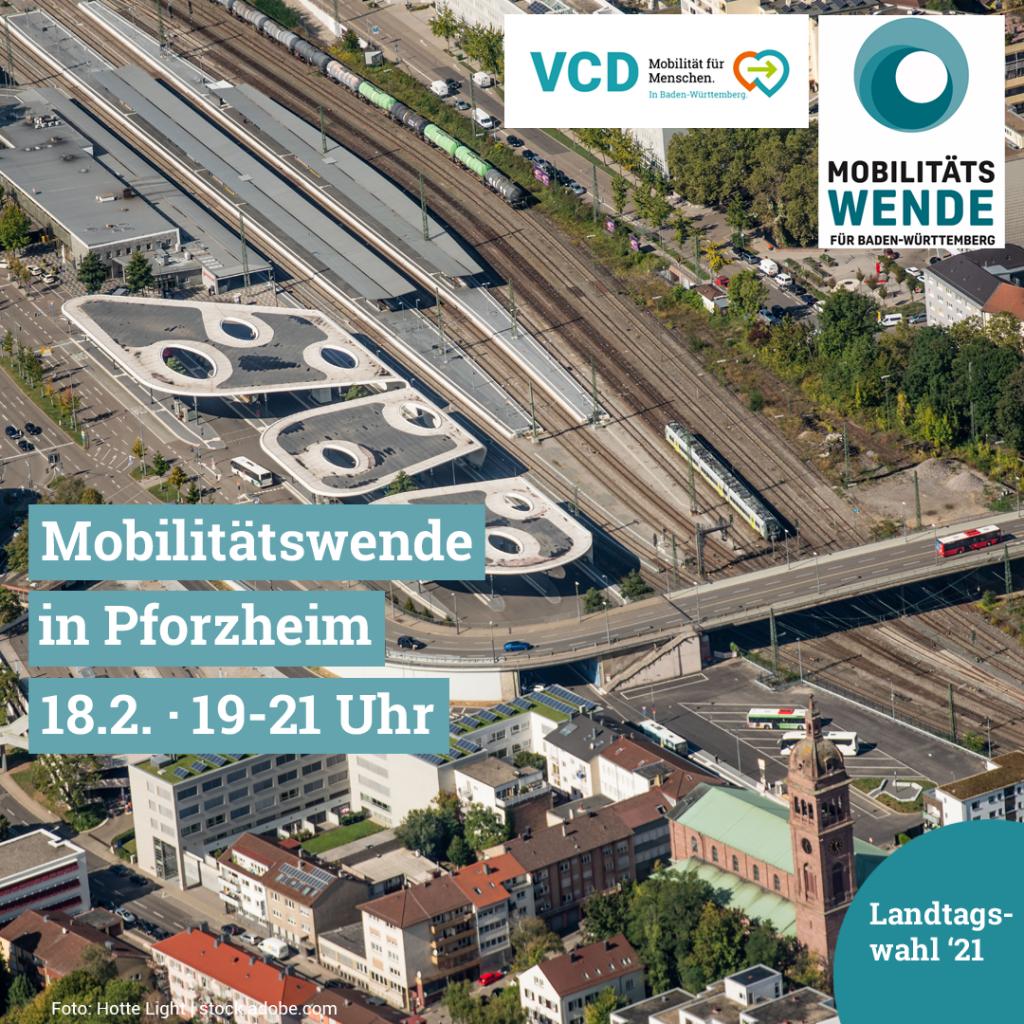 Wie gelingt eine Mobilitätswende in Pforzheim und Baden-Württemberg?