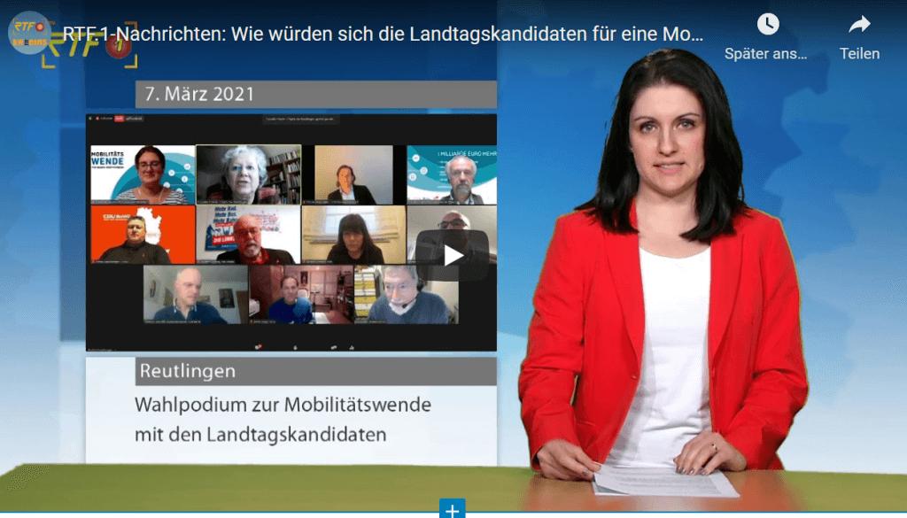 RTF.1-Nachrichten: Wie würden sich die Landtagskandidaten für eine Mobilitätswende einsetzen?