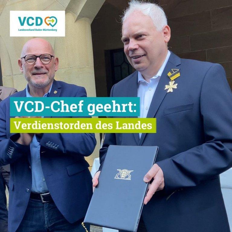 Matthias Lieb erhält Verdienstorden des Landes