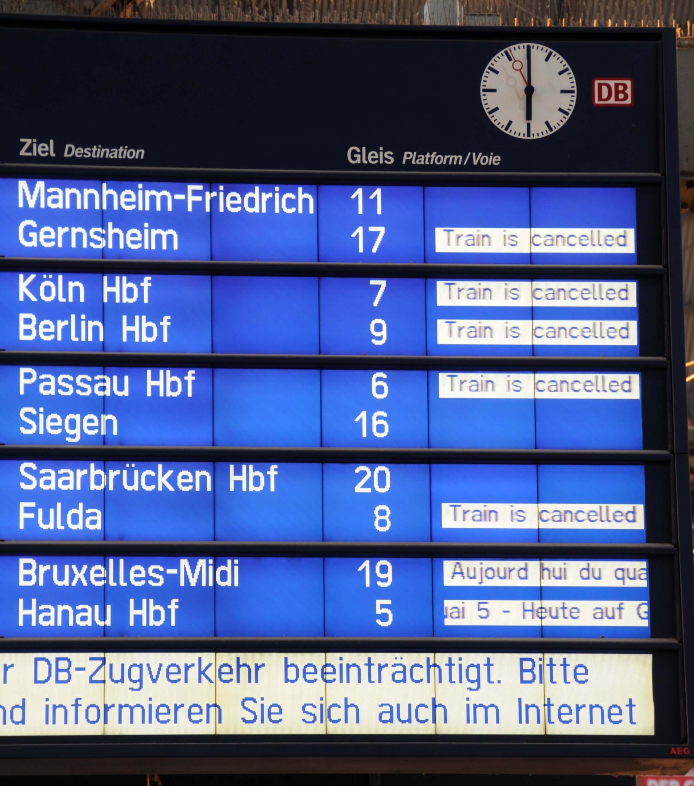 Bahnkundenverband appelliert an GdL-Vorsitzenden